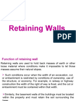 Retaining Wall Design Manual Deep Foundation Geotechnical