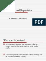 Expatriates and Repatriates