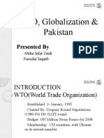 WTO Presentation PEP