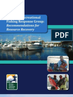 Gulf Spill Recreational Fishing Response Group Report