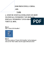 Install Windows on Virtual Machine