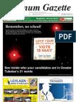 Platinum Gazette 13 May 2011