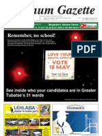 Platinum Gazette 13 May 2011