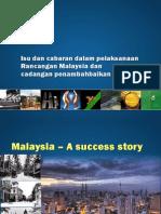 Isu Dan Cabaran Pelaksanaan Rancangan Malaysia