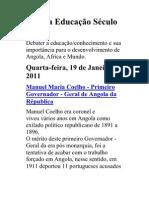 Angola Educação Século XXI