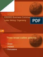 ES2002 Letter Writing - Organ is Ing