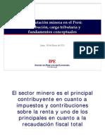 Presentacion-tributacion-minera en el Perú (marzo 2011)