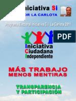 Programa Electoral ICI