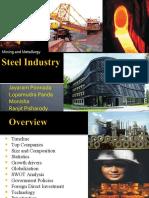 30189911 Steel Industry in India