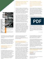 Docomomo EXHIBIT Brochure 2011