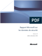 Microsoft Security Intelligence Report Volume 10 July-Dec2010 French
