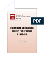 Student Financial Guidelines