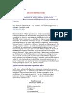 ARTRITIS REUMATOIDEA revisión mayo 2011