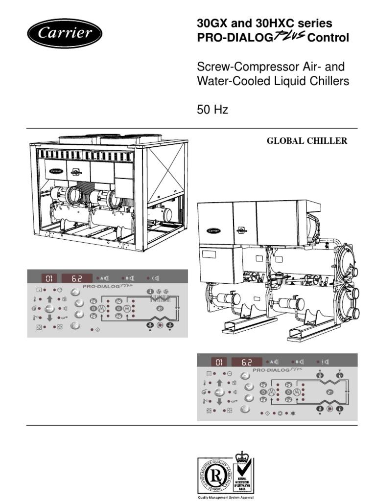 30gx and 30hxc series controls manual 3 heat exchanger air rh es scribd com