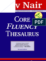 Core Fluency Thesaurus by Kev Nair, 2nd Edition - 203p