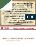 Introduccion a La Cartografia PETROMACAREO