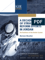 A Decade of Struggling Reform Efforts in Jordan
