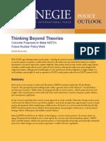 Thinking Beyond Theories