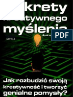 A. Bubrowiecki = Sekrety Kreatywnego Myślenia (Full 96 str)