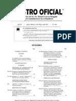 REGISTRO OFICIAL 444 20110510 Ley de Economía Popular y Solidaria