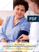 2011 Guide to Southeast Colorado Medical Resources