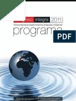 Programa Congreso Integra 2011