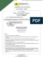 COBRA TECNOLOGIA S.A. Concurso Público - 2010_003