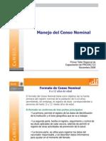 6 Censo Nominal