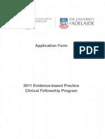 2011 EBP Application Form
