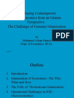 Developing Microeconomics From an Islamic Perspective