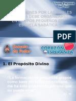 2. 9 Razones Por Las Cuales La Iglesia Debe Organizarse En Grupos Pequeños