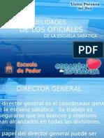 3. Responsabilidades De Los Oficiales De La Escuela Sabática