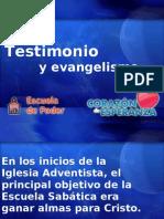 13 Testimonio y Evangelismo