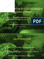 The Role and Regulation of Stock Exchange in an Islamic Economy How Can Islam Help in Reducing Volatility in the Stock Market
