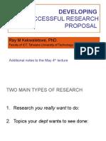 Research Proposal Elements