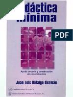 Didactica Minima ( Juan l. Hidalgo Guzman)