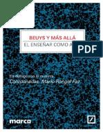 MARCO Joseph_Beuys y Coordenadas M Rangel Faz