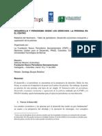 Relatoría Seminario- Taller de Periodismo Desarrollo económico incluyente y superación de la pobreza