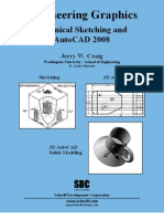 Engineering Graphics - Technical Sketching and AutoCAD 2008