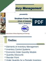 Inventory Managment Shubham Kr. Gautam