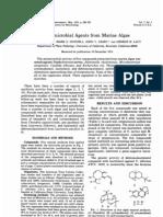 1974 Antibacterial Agents From Marine Algae
