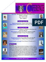 Identity Impact Conference Flyer 5