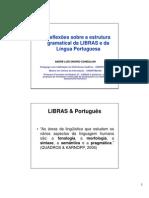 Paralelos Entre Libras e Portugues