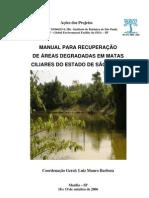 Manual de Recuperacao de Matas Ciliares e Areas Degradadas