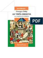 43924689 Georges Duby as Tres Ordens Ou o Imaginario Do Feudalismo