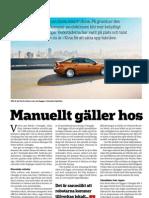 """""""Manuellt gäller hos Volvo"""", för Verkstäderna"""