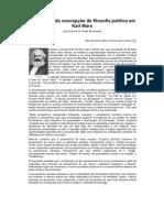 Uma leitura da concepção de filosofia política em Karl Marx