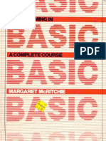 Programming in BASIC a Complete Course