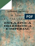 Raffaele, Cantarella - La Literatura Griega de la Época Helenística e Imperial