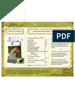 Wells Tavern Farm Spring Price List